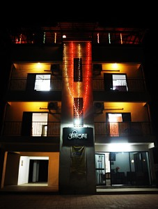Abhilasha Home Stay - exterior view - night view