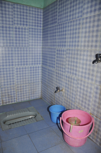 indian style Toilet and bath